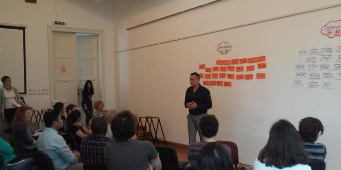 Predavanje na Arhitektonskom fakultetu Univerziteta u Beogradu