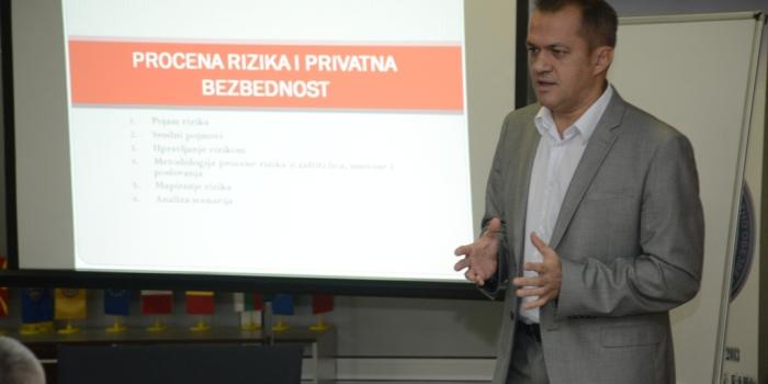 Obuka za Procenu rizika u oblasti privatnog obezbeđenja u Makedoniji