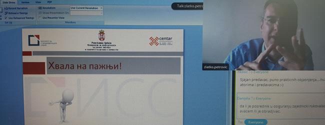 Izlaganje predstavnika kancelarije Poverenika, Zlatka Petrovića izazvalo je veliku pažnju